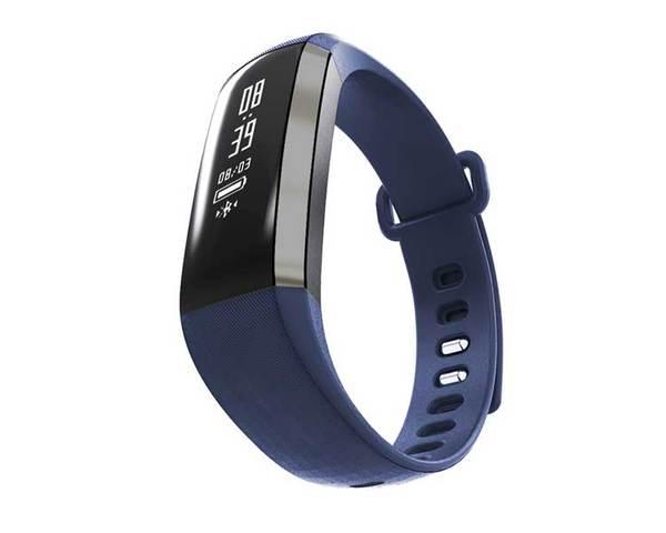 Pulsera Fitness Leotec Health Blue