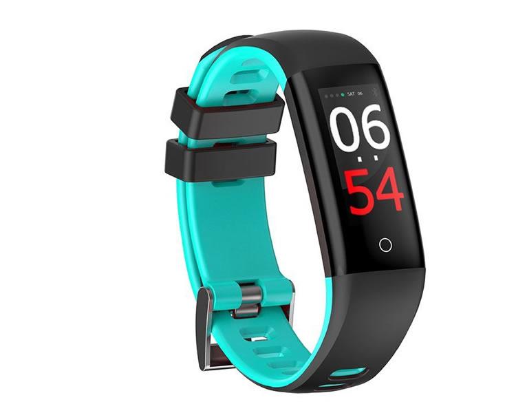 Pulsera Smartband Fitness Fashion Health Cyan Leotec