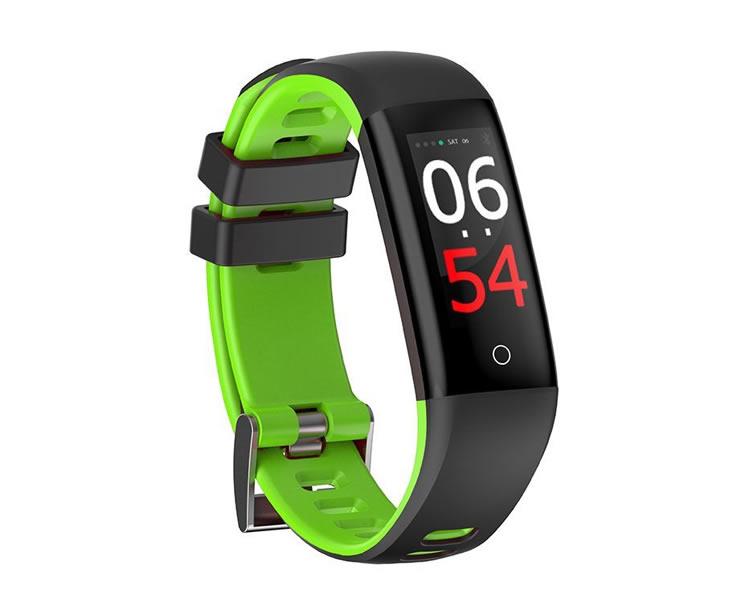 Ver Pulsera Smartband Fitness Fashion Health Verde Leotec