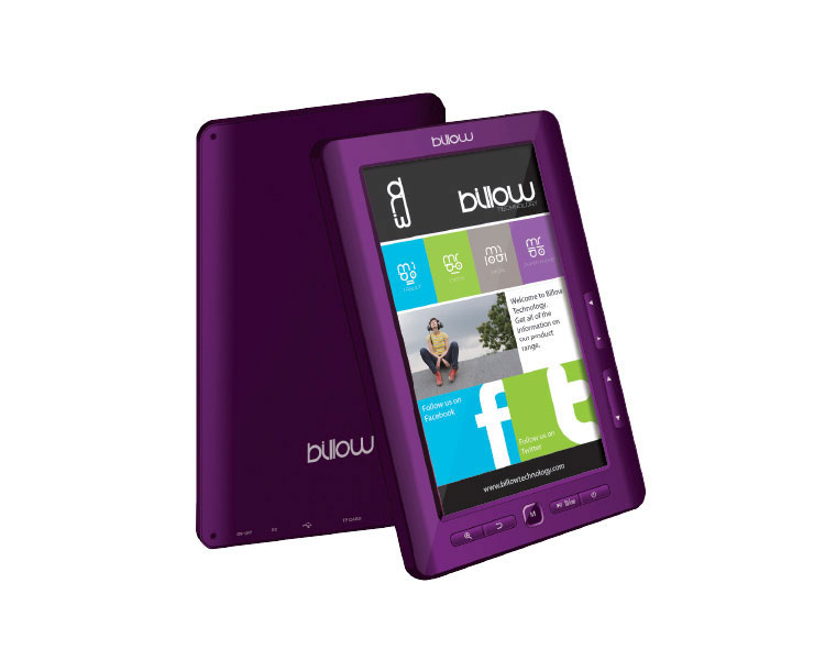Ver eBOOK 7 4GB PURPLE BILLOW