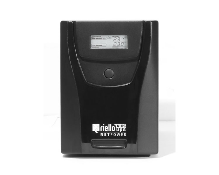 Ver RIELLO NETPOWER 1000 VA