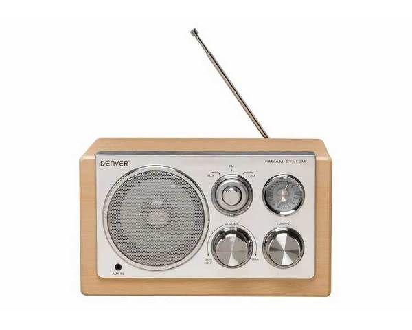 Ver Radio Denver Retro Tr 61 Lightwood