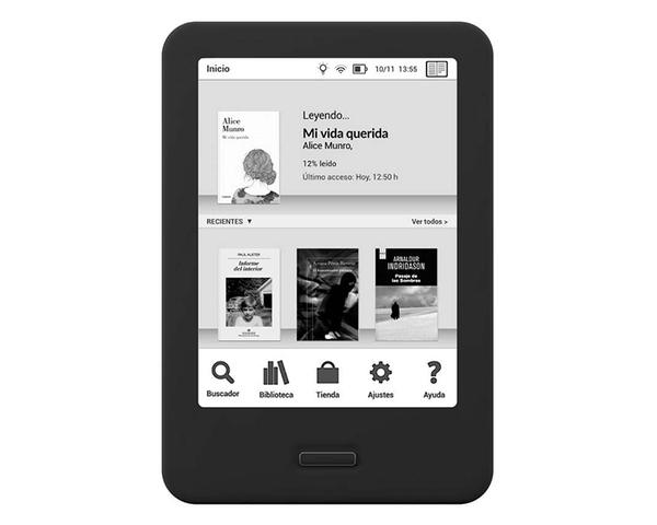 Ver Bq Reader Cervantes Hd 6 Negro