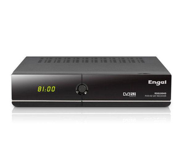 Engel RS8100HD Receptor Satelite Hd Grabador