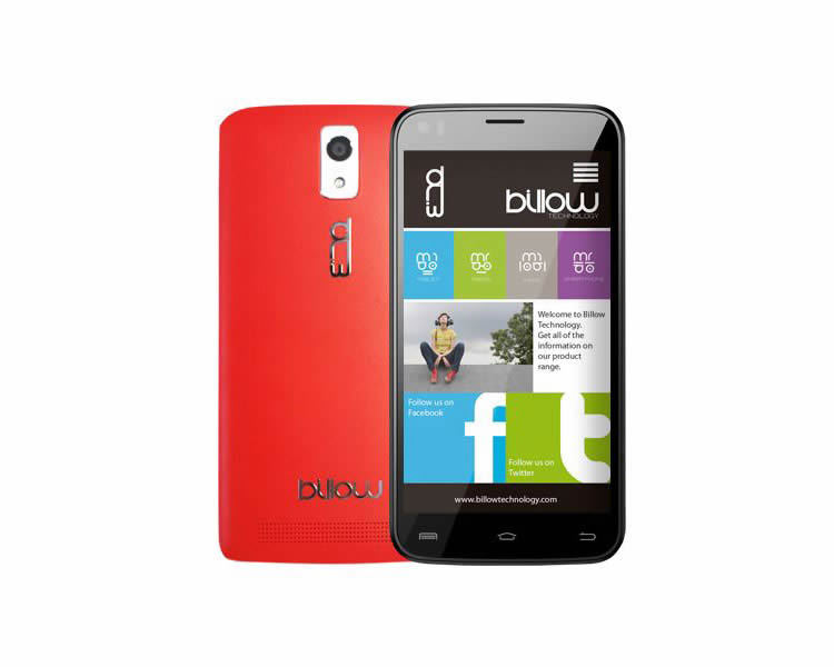 Ver BILLOW S51 HD 5 8 GB ROJO