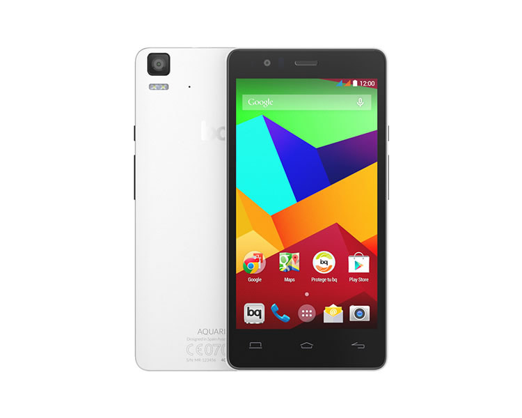 Ver BQ AQUARIS E5 HD 4G 16GB BLANCO
