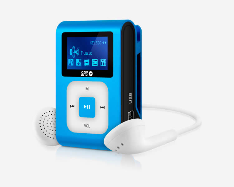 Ver SPC REPRODUCTOR MP3 CLIP EXTREME 8 GB BLUE