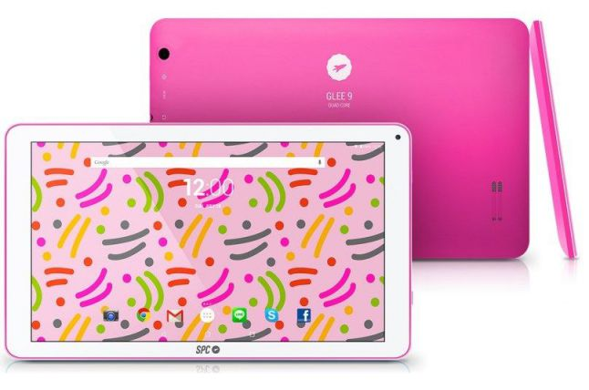 Ver SPC GLEE 9 Rosa 9760108P tablet