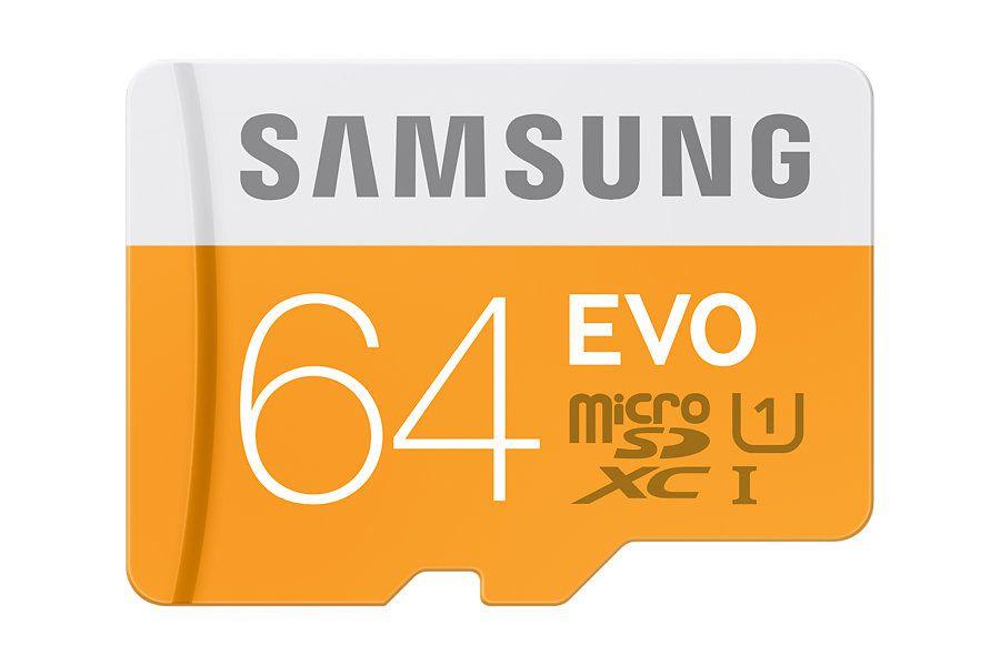 Samsung MB MP64D 64GB MicroSDXC UHS I Class 10 memoria flash