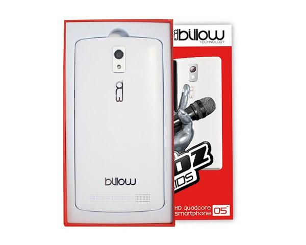 Ver Smartphone Billow S50 Hd 5 La Voz Kids BLANCO