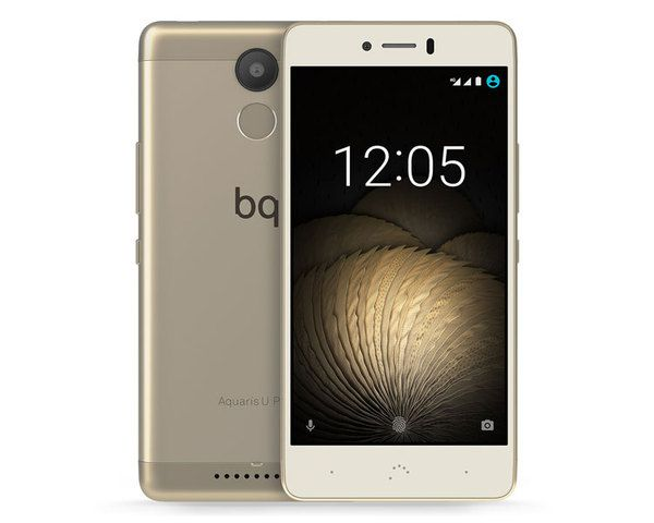 Ver Bq Aquaris U Plus 16 2gb Oro