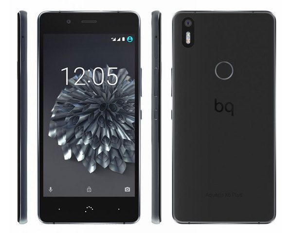 Bq Aquaris X5 Plus 4g 32 3gb GRIS ANTRACITA