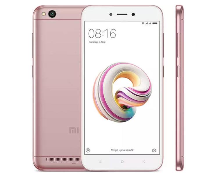 Ver Xiaomi REDMI 5a 2GB 16gb Rosa Oro
