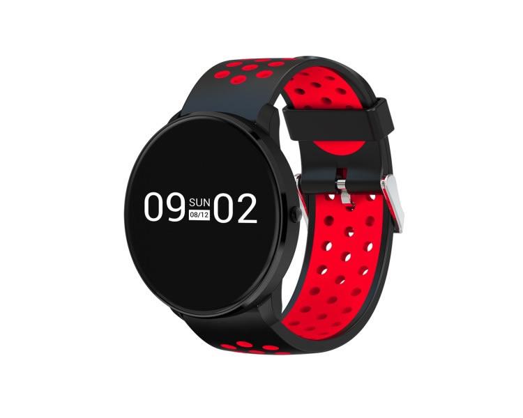 Smartwatch Billow Sport Xs20 Negro rojo