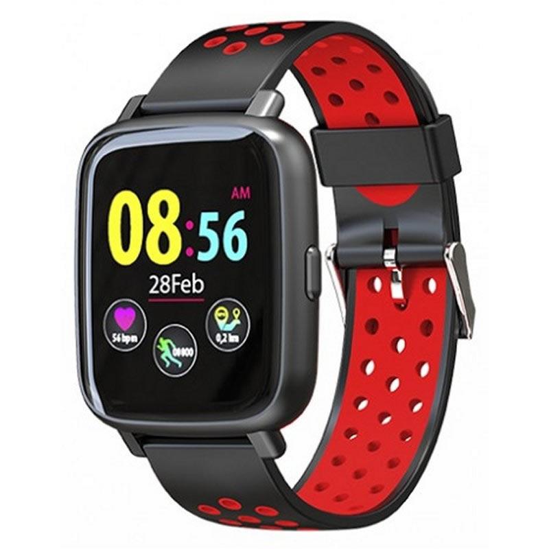 Smartwatch Billow Sport Xs35 Negro rojo