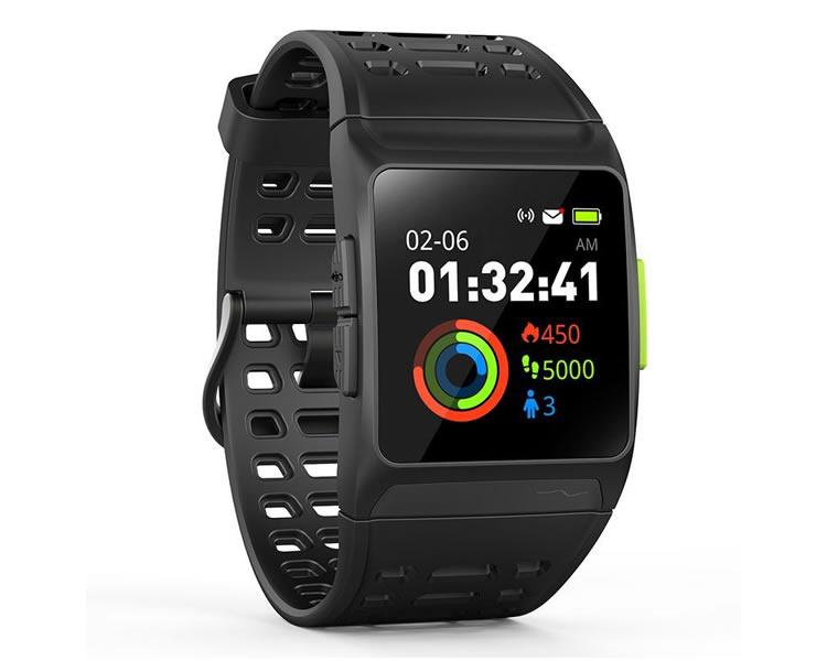 Leotec Smartwatch Training Gps Total Heart Negro