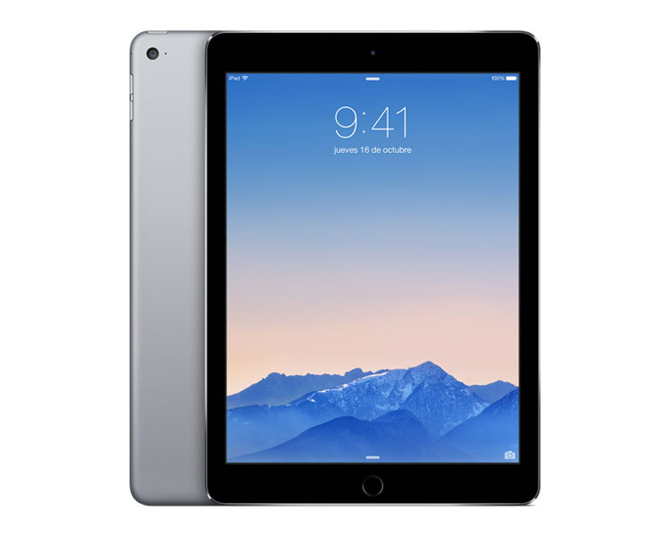 Ver APPLE IPAD AIR 2 128 GB WIFI Gris Espacial