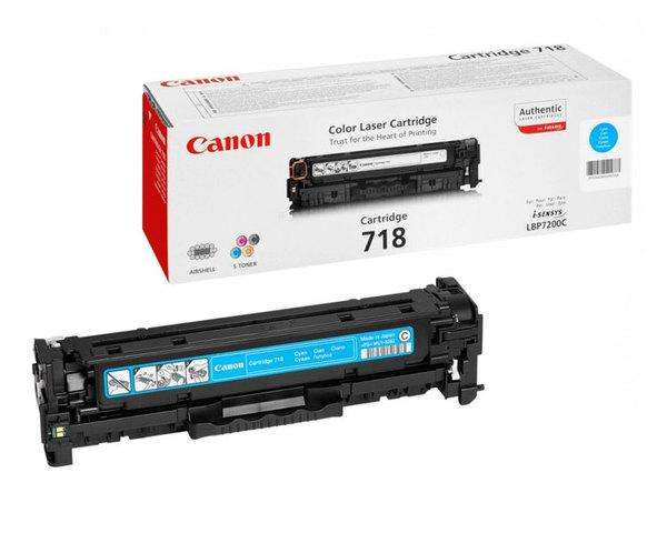 Toner Cyan Canon Mf724728729cxlbp721076607680 718