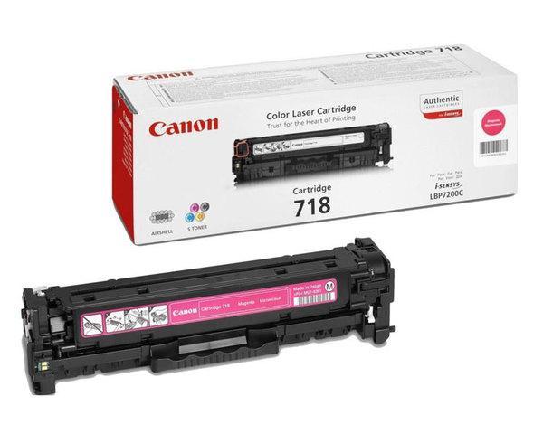 Toner Magenta Canon Mf724728729cxlbp721076607680 718