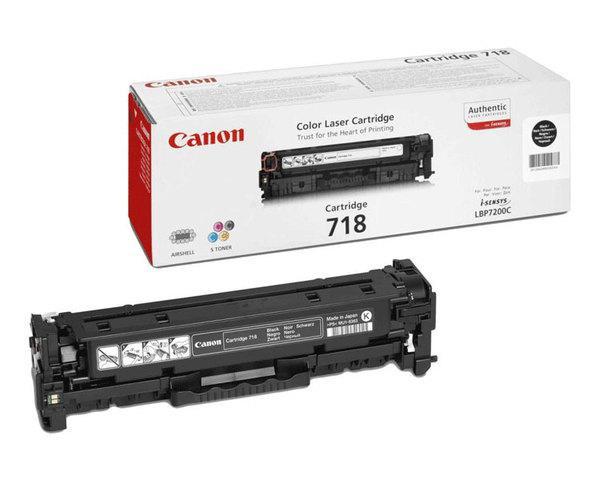 Toner Negro Canon Mf724728729cxlbp721076607680 718