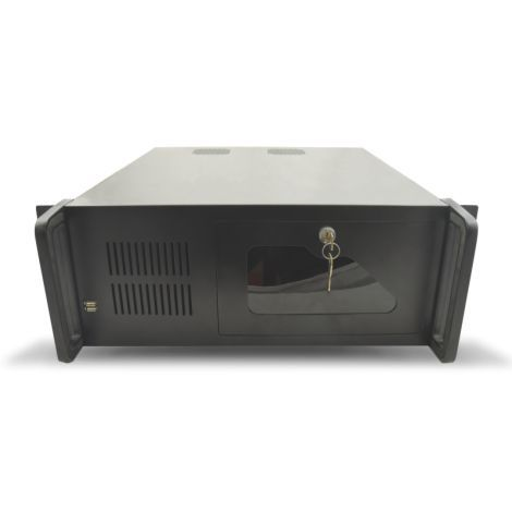 Ver TooQ RACK 406N Estante Negro carcasa de ordenador