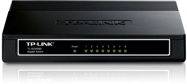 Ver Tp Link Switch 8 Port 10 100 1gbit