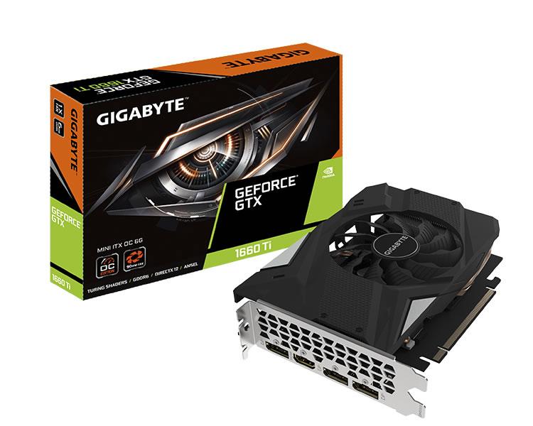 Gigabyte Gtx 1660 Ti Mini Itx Oc 6 Gb