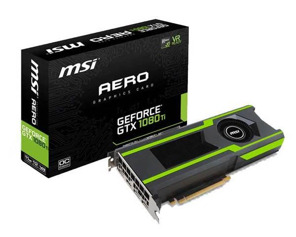 Msi Gtx 1080 Ti Aero Oc 11 Gb