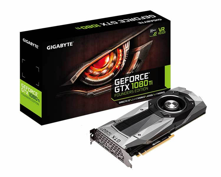 Gigabyte Gtx 1080 Ti Founders Edition 11 Gb