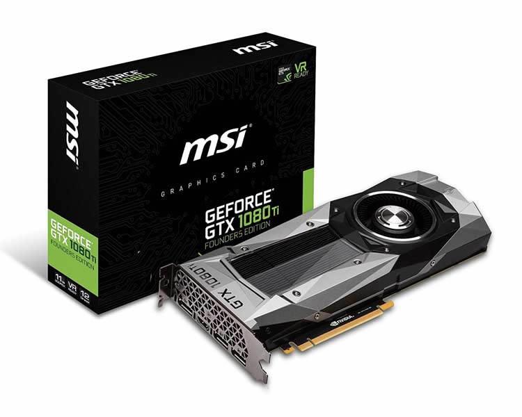 Msi Gtx 1080 Ti Founders Edition 11 Gb