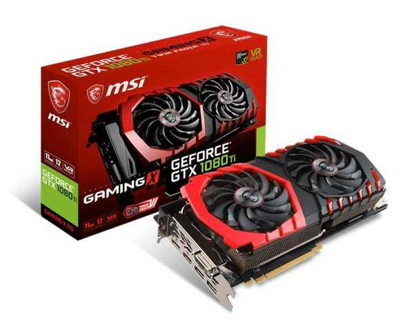 Msi Gtx1080 Ti Gaming X 11 Gb