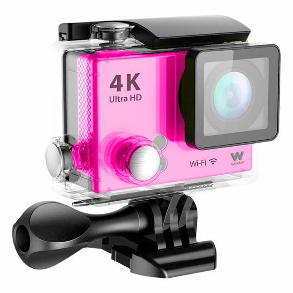 Woxter Sportcam 4K Ultra HD ROSA