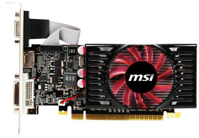 Tarjeta Grafica Msi Geforce Gt 620 2gb Lp