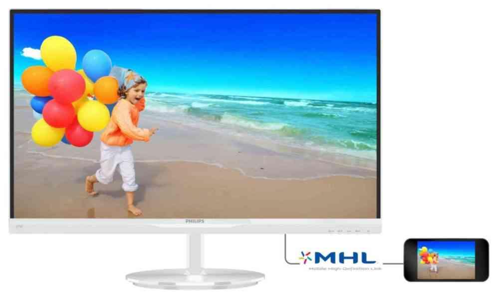 Monitor Philips 274e5qhaw Ultra Narrow Bezel