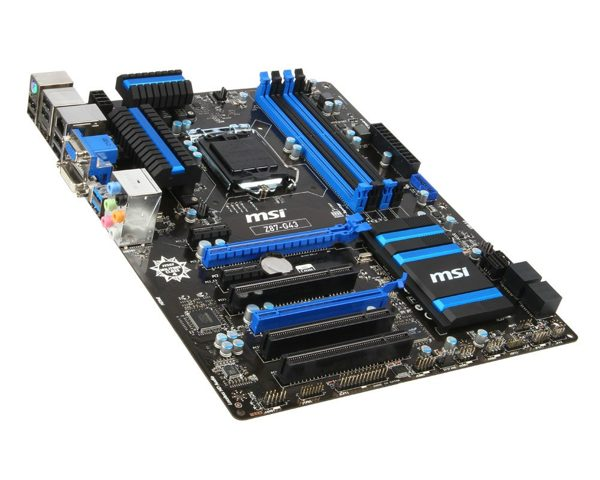 Msi Z87-g43 Placa Base