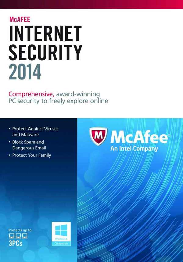 Mcafee Internet Security 2014  3u
