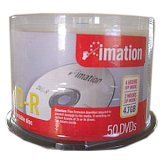 Dvd-r 47gb 8x Printable White Thermal Spindle  50