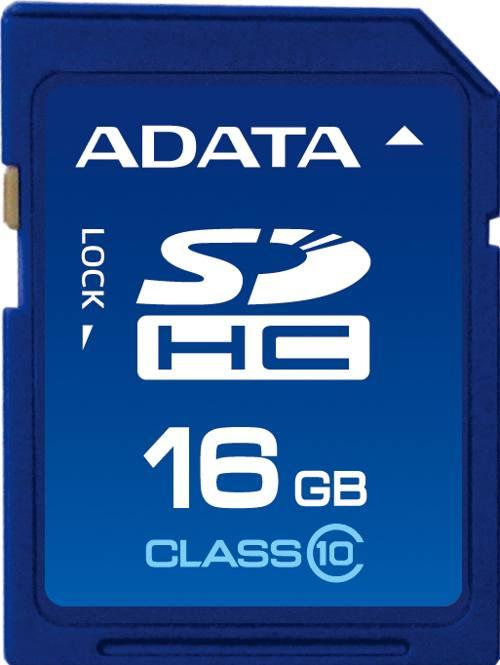 Ver A-DATA 16GB SDHC Class 10