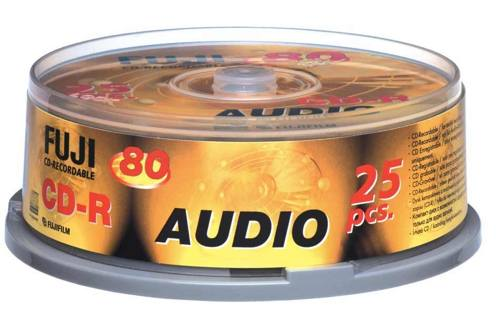Ver CD-R audio 80 25-spindle