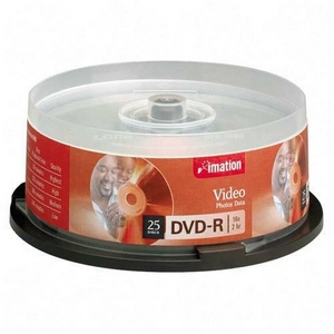 Dvd-r 47gb 4x Spindle  25