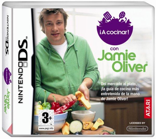 juegos a cocinar con jamie oliver nds