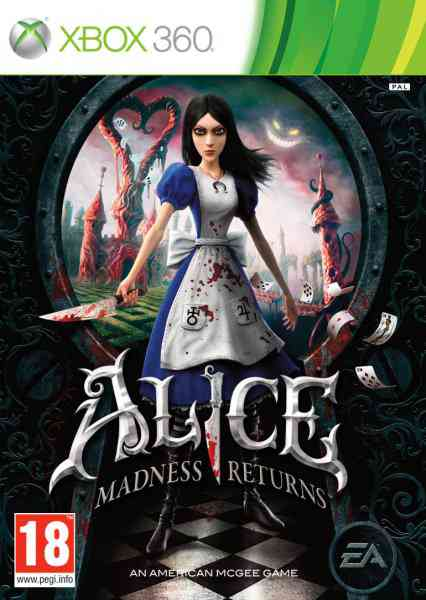 Alice Madness Returns X360