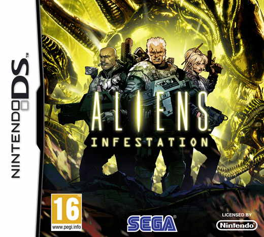 Aliens Infestation Nds