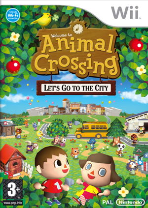 Ver ANIMAL CROSING LETS GO TO THE CITY WII