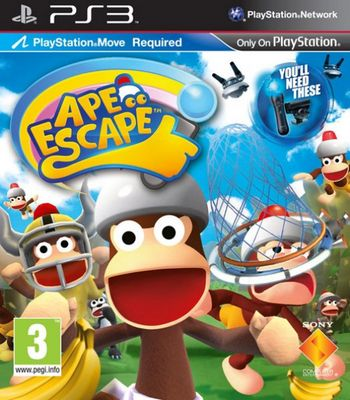 Ape Escape Move  Ps3