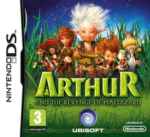 Arthur And The Revenge Of Maltazard Nds