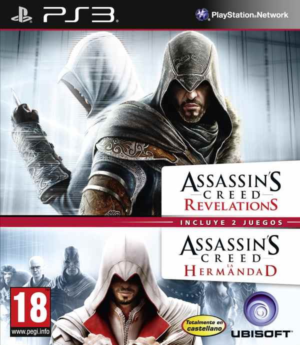 Assassins Creed Revelation  Assassins Creed La Hermandad Ps3