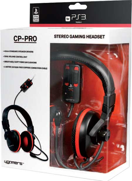 Auricular Stereo Gaming Headset Ps3