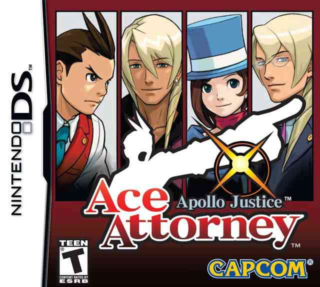 Ace Attorney Apollo Justice Nds