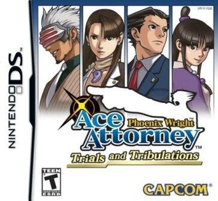 Ace Attorney Trial And Tribulations Nds